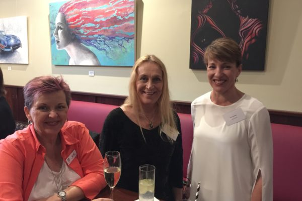 Lovely ladies at the Lumos Business Solutions rebranding event