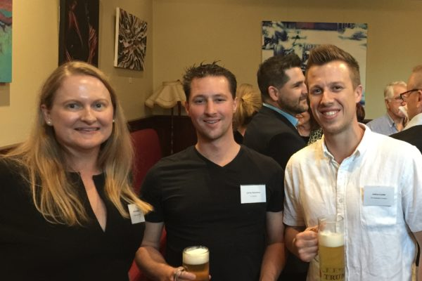 Special guests at the Lumos Business Solutions rebranding event