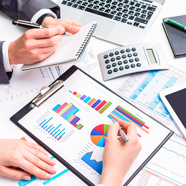 Make light work of financial reporting